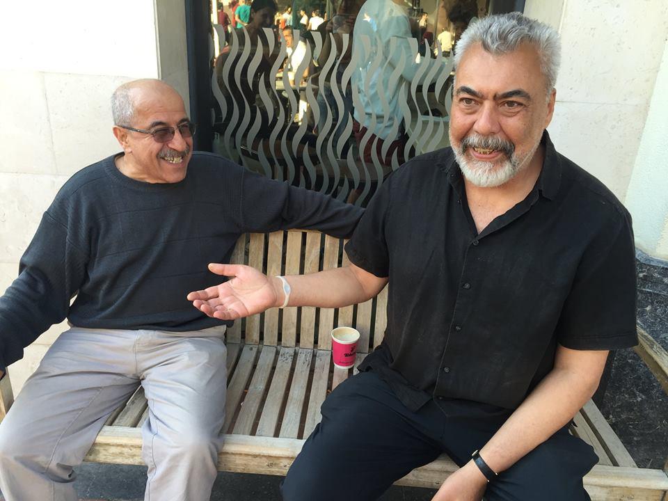 İhsan Oktay Anar, Mehmet Beşeri ile.